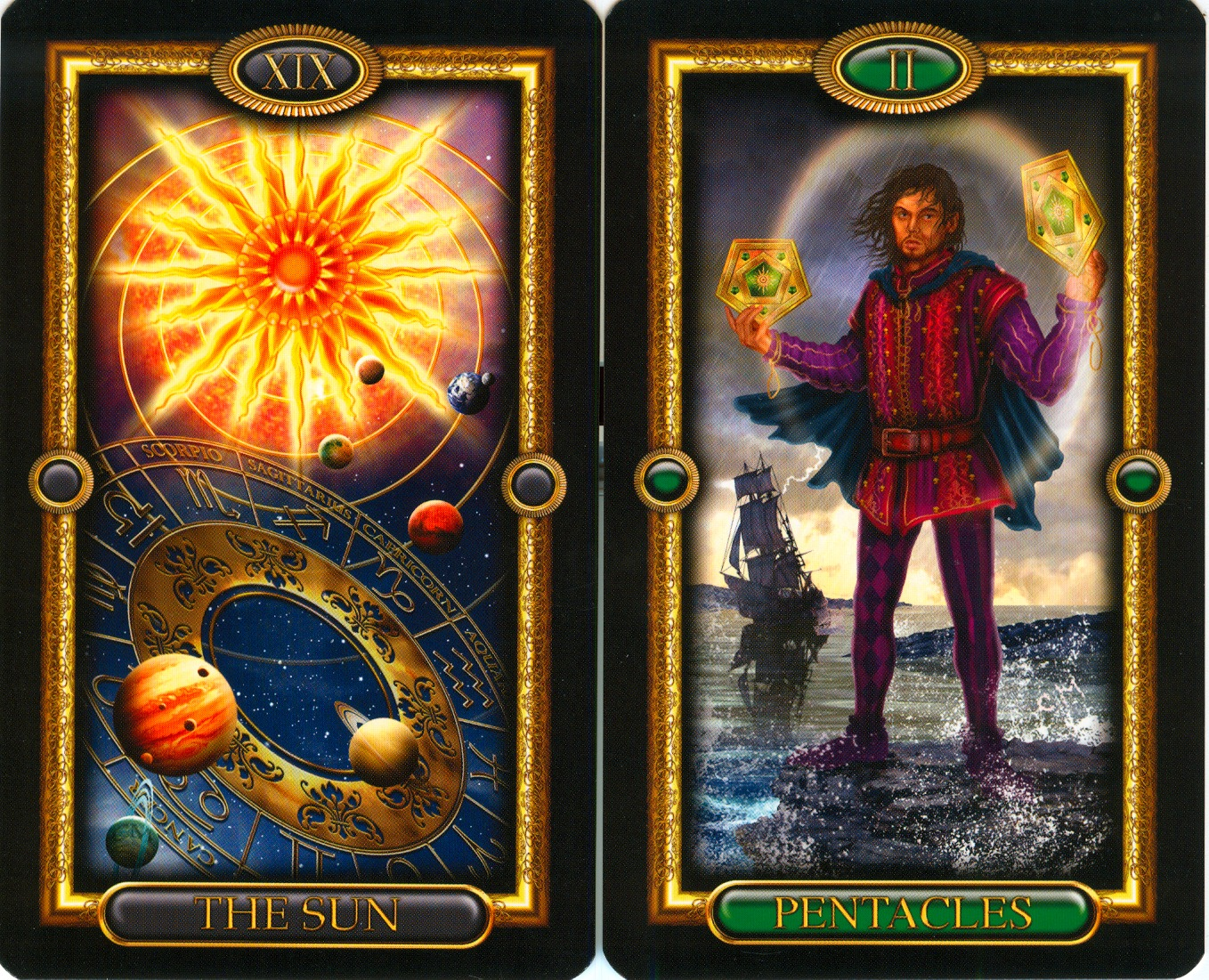 The Gallery For Gt Gilded Royale Tarot